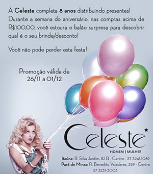 E-mail Marketing Loja Celeste